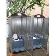 Биотуалет кабинка 90х90х230 фото