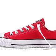 Кеды Converse ALL STAR (конверсы) Красные фото