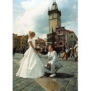 Церемония бракосочетания в Замке Карлштейн фото