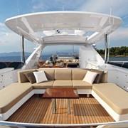 Пошив сидений и мягкой части для яхт фото