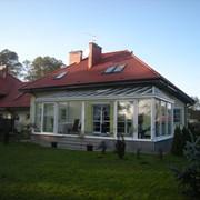 Зимний сад, проектирование зимних садов, изготовление, строительство, монтаж зимних садов фото