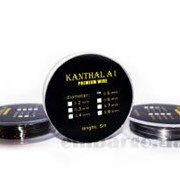 Kanthal A1 (кантал, еврофехраль) 0,4 мм/5 м фото