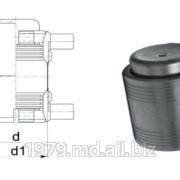 Заглушка с закладным электронагревателем фото