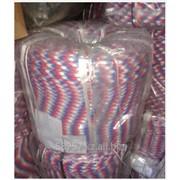 Веревка полиамидная плетеная 24-х прядная д-12 мм,с сердечником (крашеная) фото