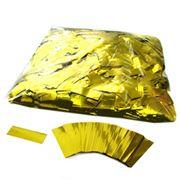 Металлизированное конфетти 17х55мм Золото фото