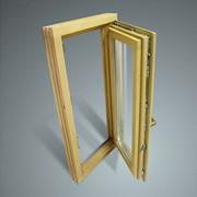 Евроокна деревянные c двумя контурами уплотнения(принцип холодильника). Цена 600грн/кв.м. фото