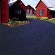 Асфальтовая крошка, укладка асфальтной крошки, формирование дорог, стоянок, фото