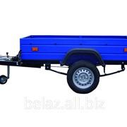 Прицеп грузовой БЕЛАЗ 8102 к легковым автомобилям ТУ BY 600038906.128-2009 фото