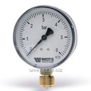 Манометр радиальный Watts MDR 63/10 фото