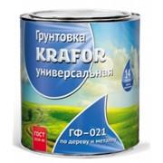 Грунтовка ГФ-021 0,8 кг Krafor фото
