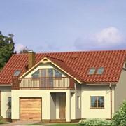 Строительство дома с мансардой фото