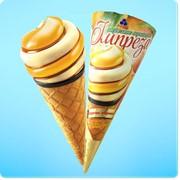 Мороженое Импреза Персик-абрикос фото
