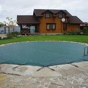 Защитное накрытие для бассейнов фото