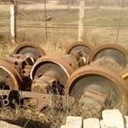 Колёсные пары с редукторами к тепловозу ТГК-2 фото
