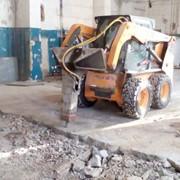 Аренда гидромолота на базе мини погрузчика Bobcat (Бобкет, Бобкэт) фото