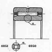 Подшипник 6-244708Л роликовый радиальный с длиными цилиндрическими или игольчатыми роликами фото