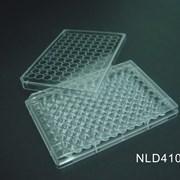 Планшет для культивирования, V-образное, плоское дно, 96 лунок фото