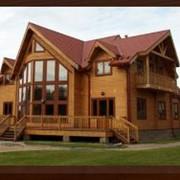 Дома из профилированного бруса фото