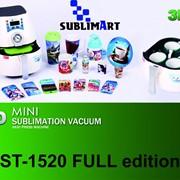 Портативный компактный настольный термопресс для 3d сублимации ST-1520 FULL edition фото