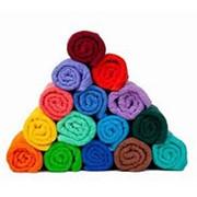Полотенце махровое 50*100, цвета микс фото