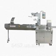 Горизонтальная упаковочная машина с загрузчиками продукта для упаковки печенья ФЛМ 4000 фото