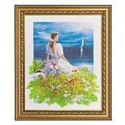 """Картина """"Вечер"""" багет 32х38 см 4581 фото"""