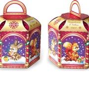 Новогодняя упаковка Сказочные игрушки фото