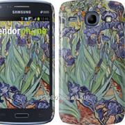 Чехол на Samsung Galaxy Core i8262 Винсент Ван Гог. Ирисы 161c-88 фото
