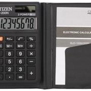 Калькулятор карманный, 8 разр., 98x62x9.8мм, (CITIZEN) фото