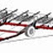 Борона зубовая широкозахватная гидрофицированная БПШ 21/15 фото