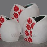 Декоративные напольные вазы фото