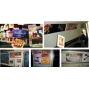 Размещение рекламы в метрополитене Киева на путевых стенах щитах и эскалаторных сводах Размещение рекламы в метро фото