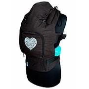 Эргономичный рюкзак Темный шоколад АКЦИЯ! При покупке эргорюкхачка 2 мини-коврика в подарок! Эргономичный рюкзак Темный шоколад фото