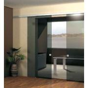 Раздвижная стеклянная дверь OR-120, комплект фурнитуры для створки весом 120кг фото