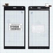 Сенсорное стекло (тачскрин) для Explay Neo черное, Диагональ 5 фото