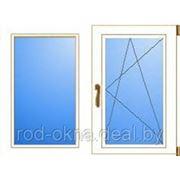 Окно ПВХ 1200*900 пластиковое в спальню новой планировки фото