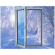Окно ПВХ 1100*800 пластиковое в кухню или спальню брежневской планировки фото
