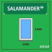 Окно ПВХ 1000х1400 (ШхВ), кредит, рассрочка, SALAMANDER фото