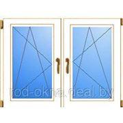 Окно ПВХ 1800*1100 пластиковое в кухню или спальню брежневской планировки фото