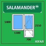 Балконный блок ПВХ, кредит, рассрочка, SALAMANDER фото