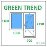 Балконный блок ПВХ, кредит, рассрочка, Green Trend фото