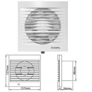 Вентилятор DOSPEL EURO 100 WPK фото