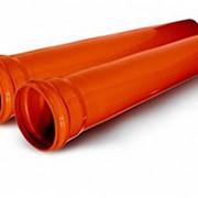 Труба наружной канализации ПВХ Ø160 длина 1000 мм SN4 фото