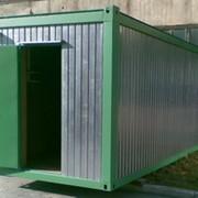Изготовление контейнерных модулей, Домики вагончики, бытовки фото