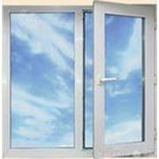 Окна ПВХ 1400*1400 пластиковое в детскую новой планировки фото