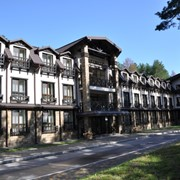 Загородный эко-отель Шишккин в селе Сновянка фото