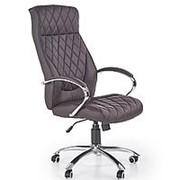 Кресло компьютерное Halmar HILTON (шоколад) фото