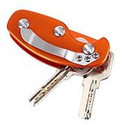 Органайзер для ключей, оранжевый фото