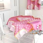 Розовые сладости арт.ТФС2087 (145х145) фотоскатерть фото