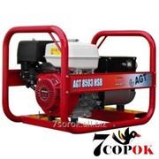 Трехфазный Бензиновый генератор AGT 8503 HSBЕ PL фото